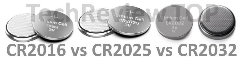 cr2016 cr2025 cr2032