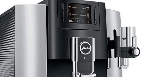 Jura s8 buttons and specialties
