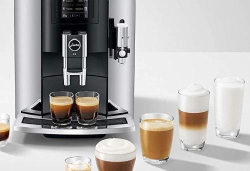 Jura Coffee machine E8 maintenance