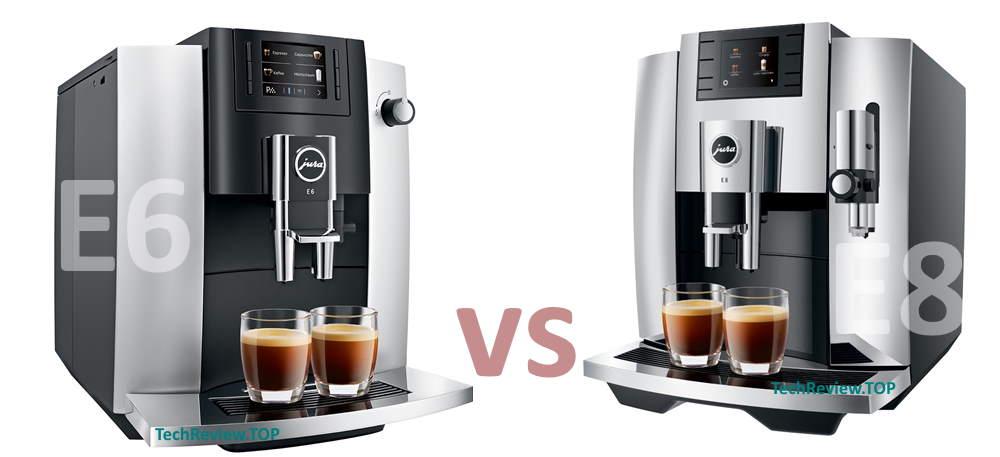 Jura E6 vs Jura E6 review