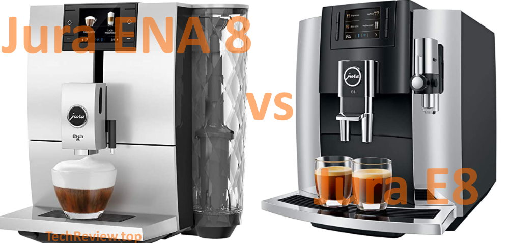 Two coffee machines compared with review