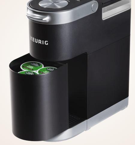 KEURIG K-Mini Plus pod storage